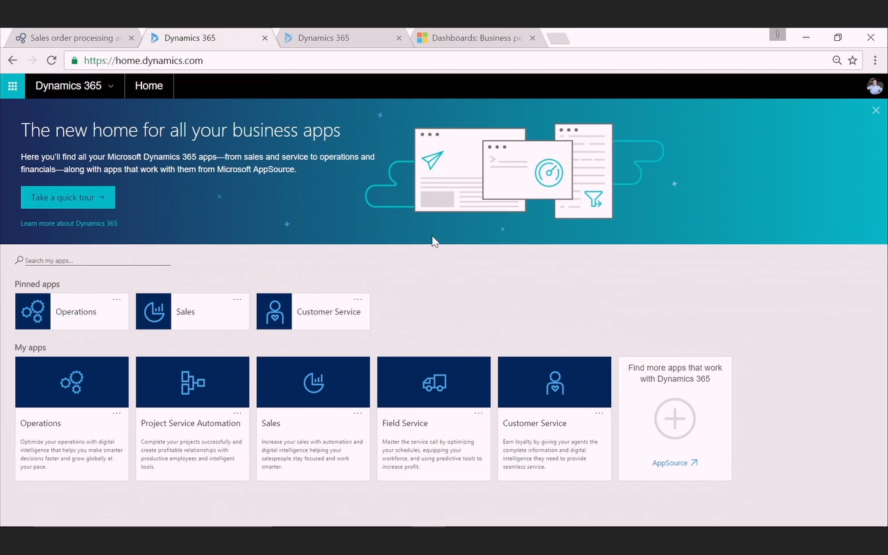 First look at Microsoft Dynamics 365 – @ramontebar