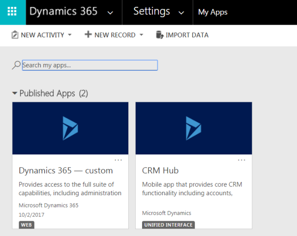 ramontebar_blog_Dyn365 v9.0 Apps Unified Interface