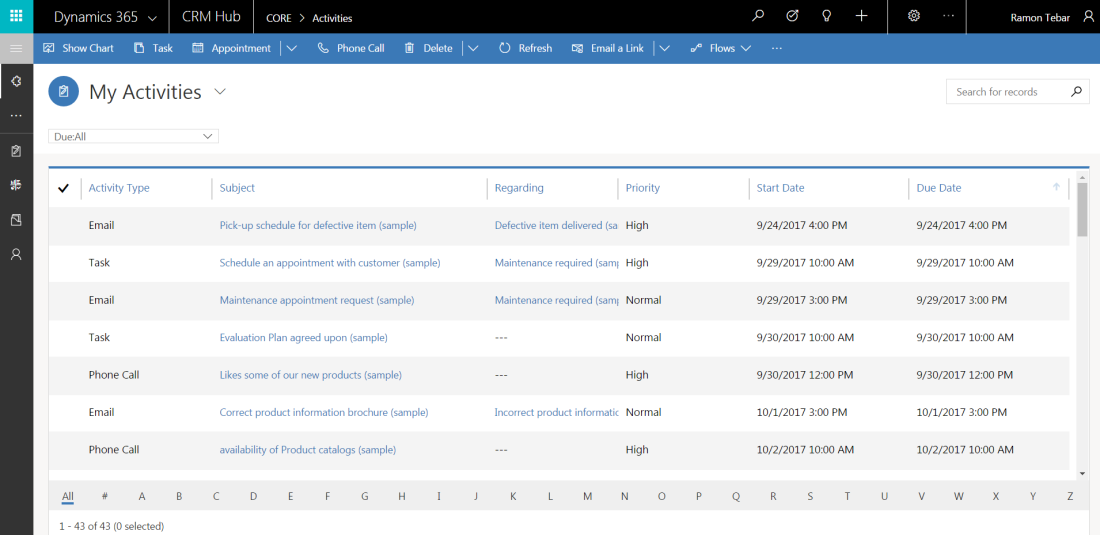 Dynamics 365 v9 0 is already available – @ramontebar