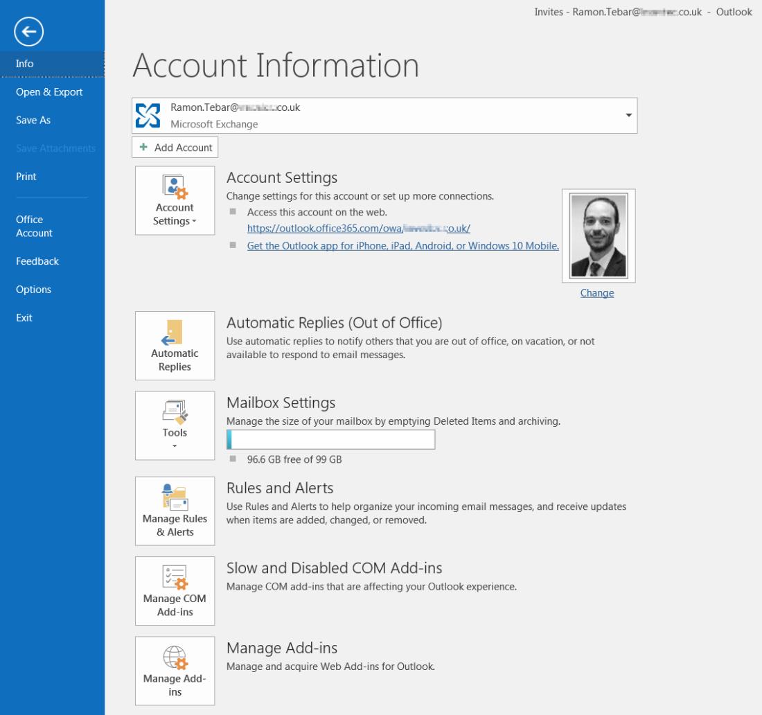ramontebar_blog_Manage Outlook Add-ins
