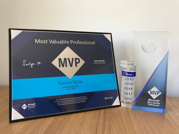 rtb_blog_Business Applications MVP award 2018-2019